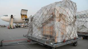 Une première livraison de 16 tonnes vendredi doit être suivie d'une deuxième, de 32 tonnes, samedi.