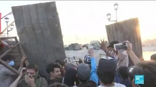 2019-11-18 13:39 Protesters seal off Baghdad bridges as thousands join general strike