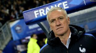 """Le sélectionneur de l'équipe de France Didier Deschamps """"ne comprend pas"""" ce qui lui est reproché."""