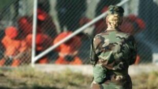 حارسة في معتقل غوانتانامو العسكري الأمريكي