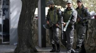 انتشار للشرطة الإسرائيلية قرب حي جبل المكبر.