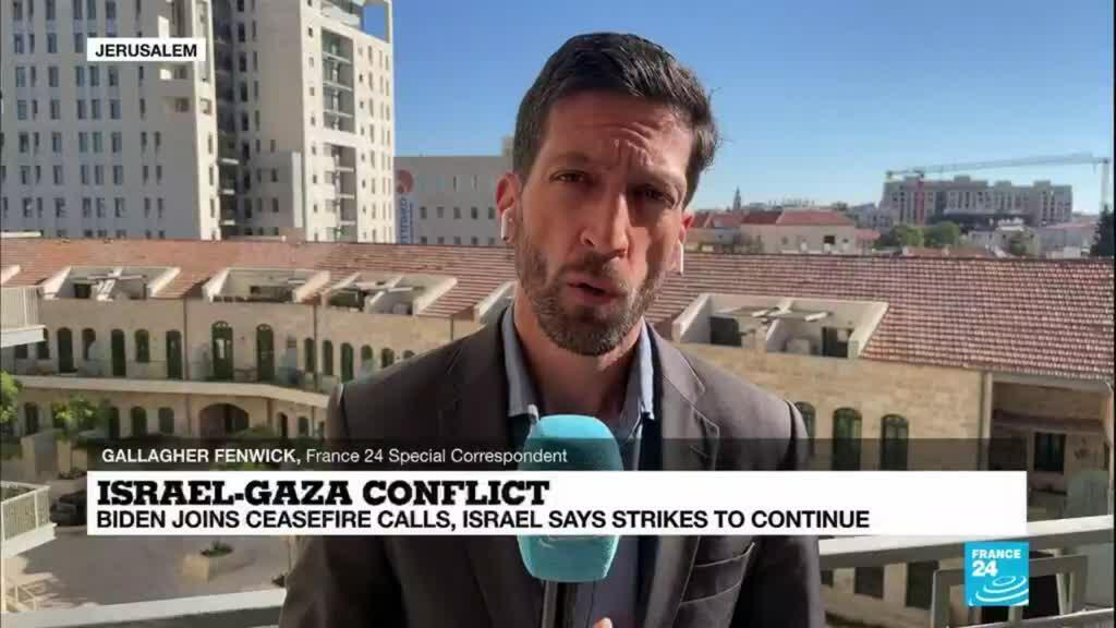 2021-05-18 08:02 Israel-Gaza conflict: Israelis rule out an immediate end to hostilities