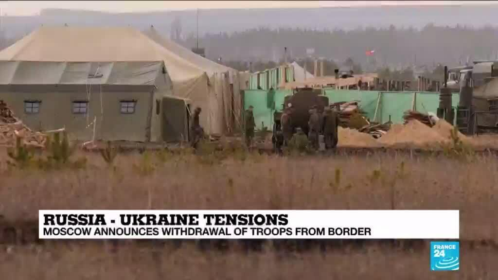 2021-04-23 09:36 Russia to withdraw troops from Ukrainian border