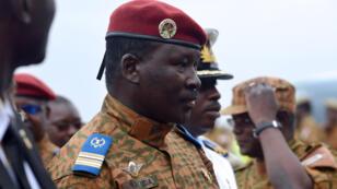Le lieutenant-colonel Isaac Zida est l'homme fort du Burkina Faso depuis la chute du président Blaise Compaoré le 31 octobre.