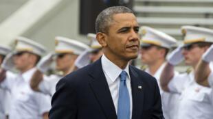 Barack Obama à l'académie militaire de West Point  (archives)