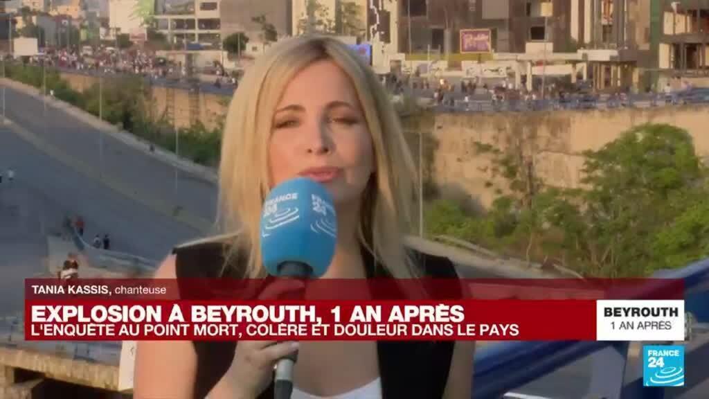 """2021-08-04 17:47 Explosion à Beyrouth, un an après : """"Le peuple libanais doit rester uni pour avancer"""""""