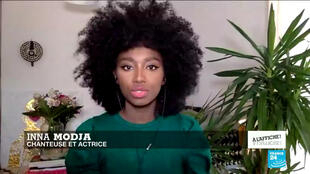 La chanteuse malienne Inna Modja