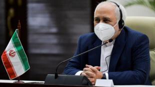 Le chef de la diplomatie iranienne, Mohammad Javad Zarif.