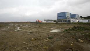 Le site de Hinkley Point, dans le sud de l'Angleterre, en octobre 2013, qui doit accueillir le projet de centrale nucléaire porté par EDF.