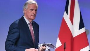 Michel Barnier, négociateur en chef européen sur le Brexit, le 19 mars 2018 à Bruxelles.