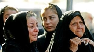 جنازة عامة أقيمت في 24 أيلول/سبتمبر لضحايا هجوم الأهواز