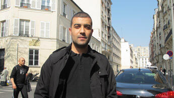 """L'islam a mauvaise réputation en France."" Mohamed Tedjini, 28 ans. Photo : Charlotte Oberti."