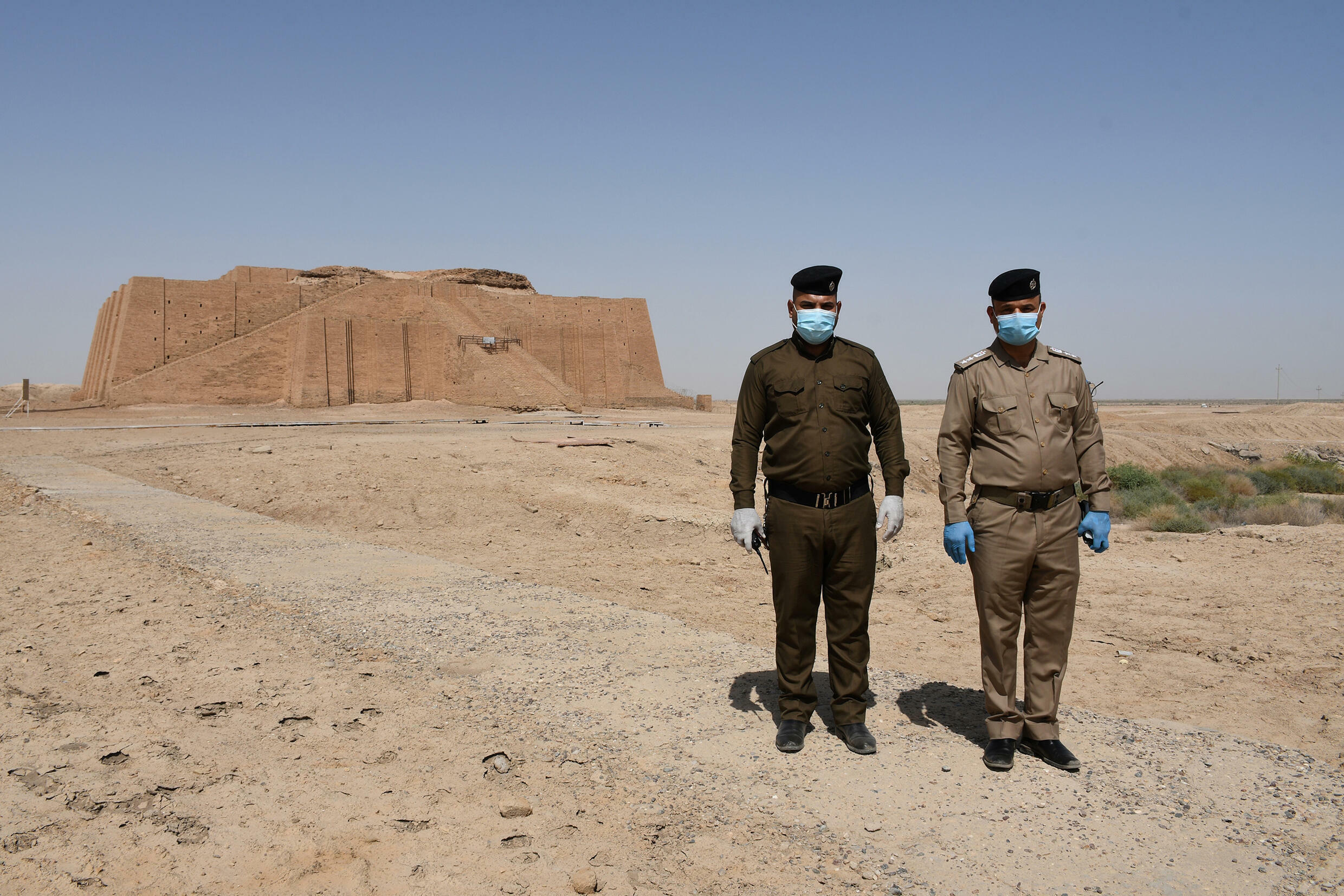 Iraq has several archaeological sites, including the Temple of the Great Ziggurat, dedicated to the Sumerian moon god Nanna and dating from around 2100 BC.